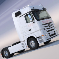 lwo new mercedes actros spacecab