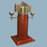 compass binnacle 3d model