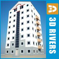 3ds apartment building house 20