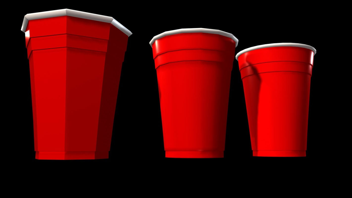 3d party cup