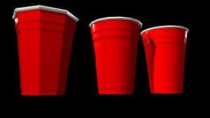 3d party cup