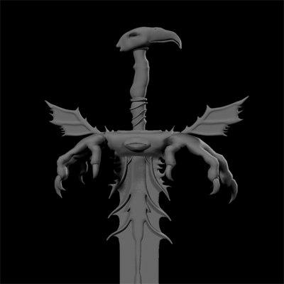 3d sword vengence