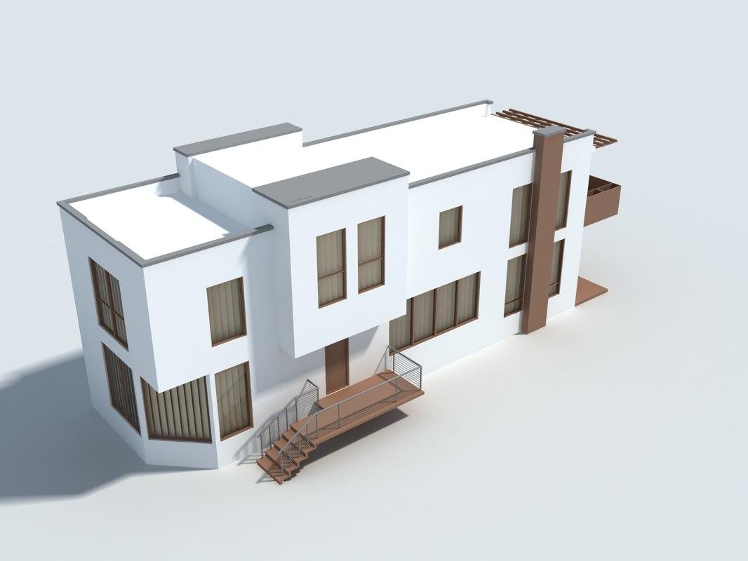 3ds small villa