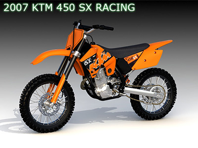 3ds max ktm 450sx racing