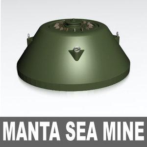 stealth manta sea 3d max
