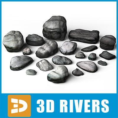 maya stones rocks