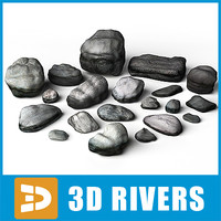 Shore stones by 3DRivers