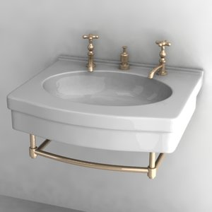 3ds old basin