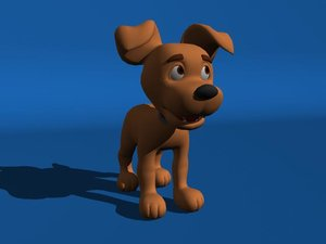 puppy cartoon ma