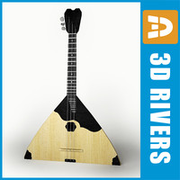 Russian balalaika by 3DRivers