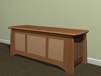 chest turner furniture 3d ma