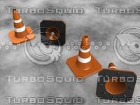 free cones 3d model