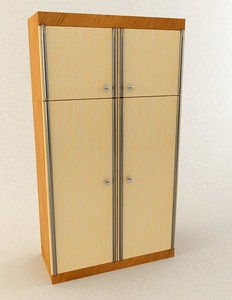 wardrobe cabinet 3d model