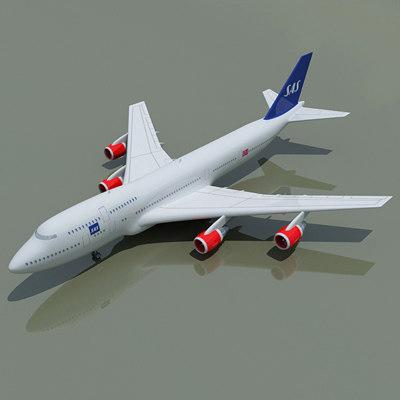 3d b 747 sas