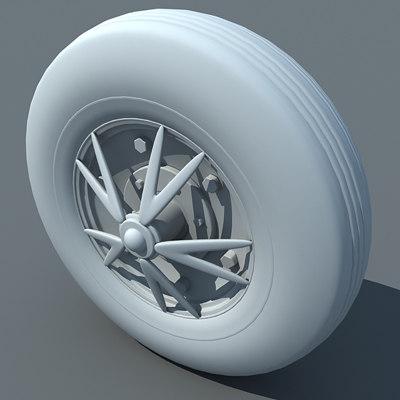 wheel 3ds