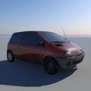 3d max renault twingo car -