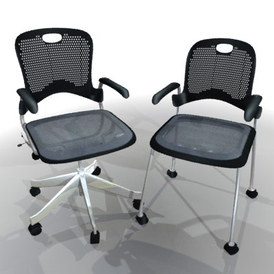 3d 2chairs model