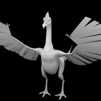 3d basilisk dragon