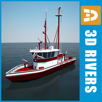 3d ship 3dr059 model