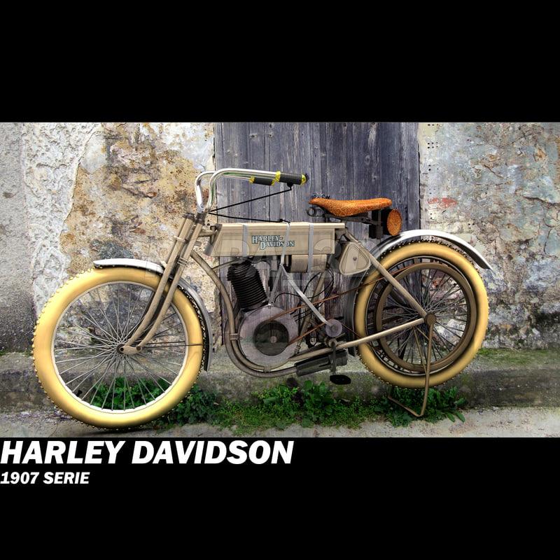 max harley davidson 1907
