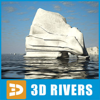 3ds max iceberg ice