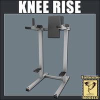 3d knee rise model