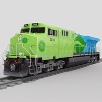 ge es44dc evolution 3d model