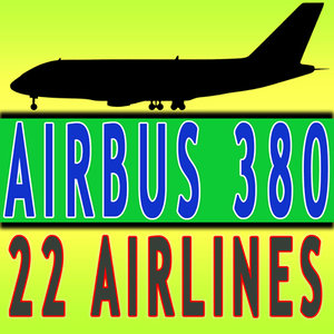 380 airline 3ds