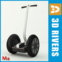 electric segway v1 fbx