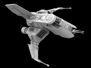 3d space fighter