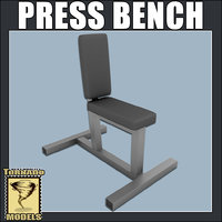 bench press 3d 3ds