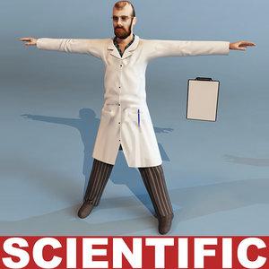 3d scientific modelled
