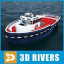 Sea Tug 04 by 3DRivers