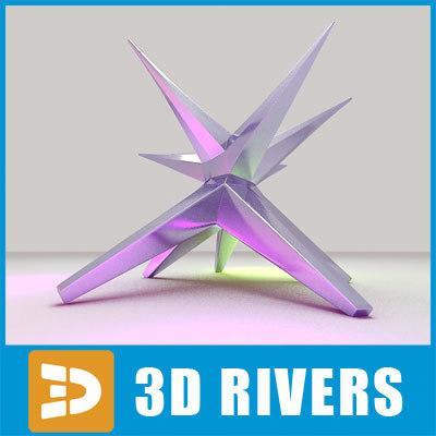 free max model star urban statue