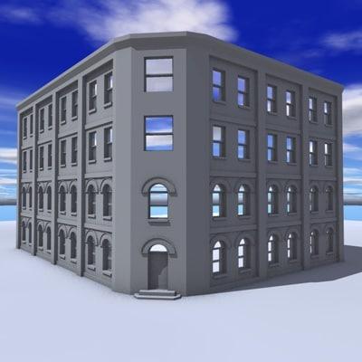 architecture 3d 3ds