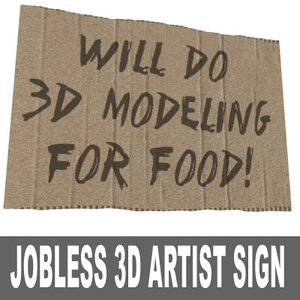 sign work 3d 3ds