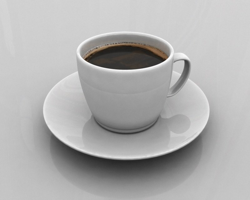 coffee cup 3d model