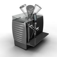 3ds max coffee machine