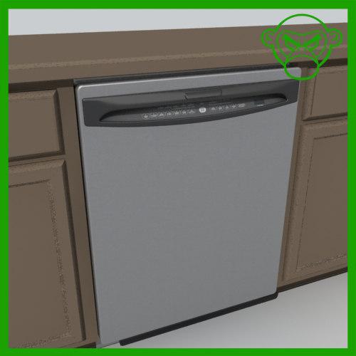 3d 3ds dishwasher dish washer
