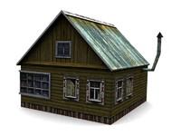 wood 3d model