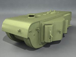 german tank kolossal wagen obj