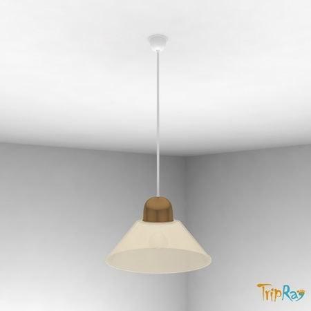 free lamp overhead kitchen 3d model