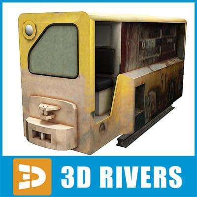 ready minecart 3d model