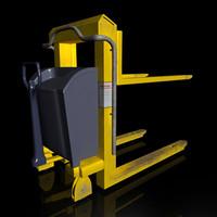 handle forklift lift 3d model