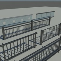 3d railings design