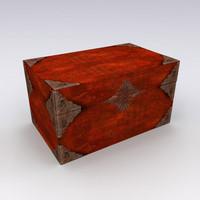 3d model jewellery box