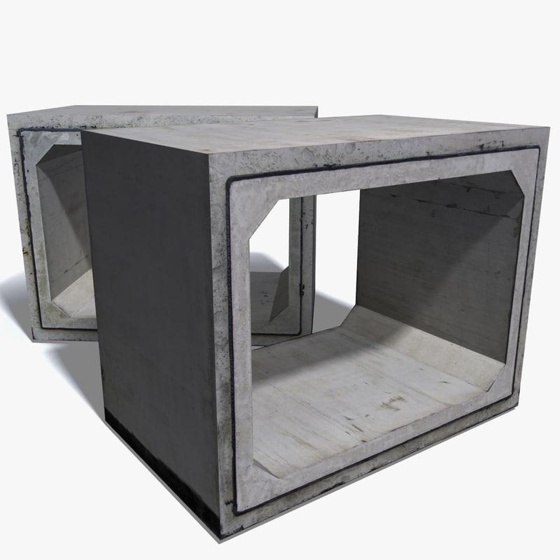 max concrete construction block