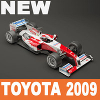 3d model toyota tf109