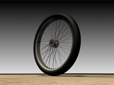 velg rims bike 3d model