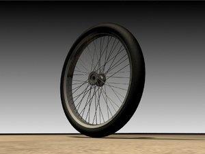 velg rims bike 3d model